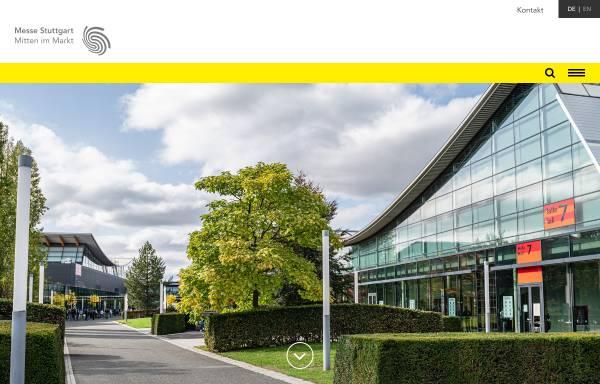 Vorschau von www.messe-stuttgart.de, Messe Stuttgart International