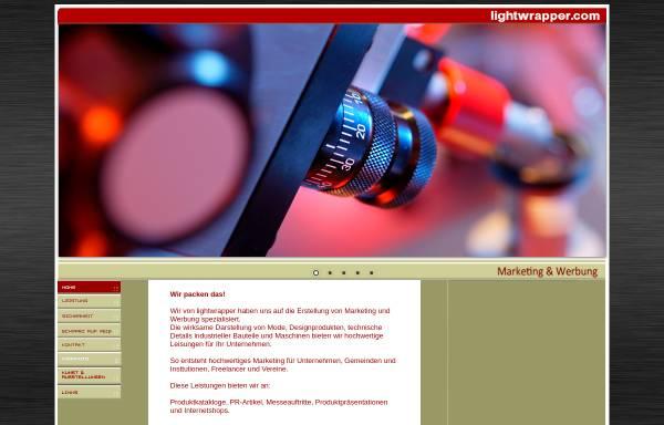 Vorschau von www.lightwrapper.com, Lightwrapper - Werbe- und Produktfotografie