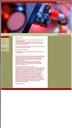 Vorschau der mobilen Webseite www.lightwrapper.com, Lightwrapper - Werbe- und Produktfotografie