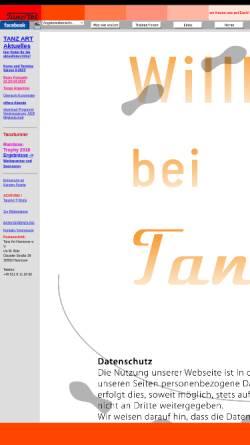 Vorschau der mobilen Webseite tanzart-hannover.de, Tanz-Art Hannover e.V.