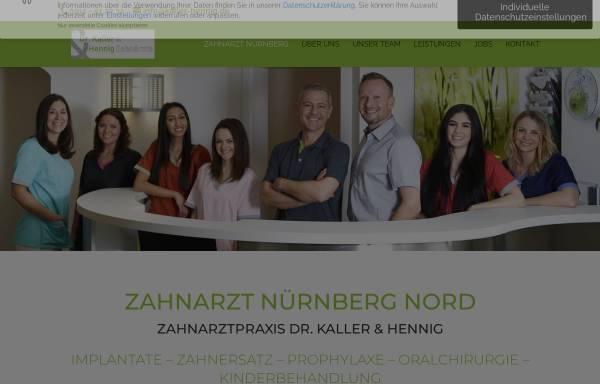 Vorschau von www.kaller-hennig.de, Zahnarztpraxis Dr. Kaller & Hennig