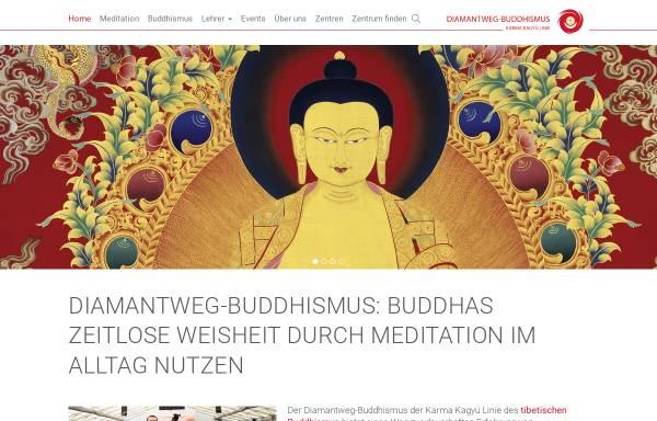 Vorschau von www.buddhismus-west.de, Buddhistische Zentren West der Karma-Kagyue-Linie e.V.