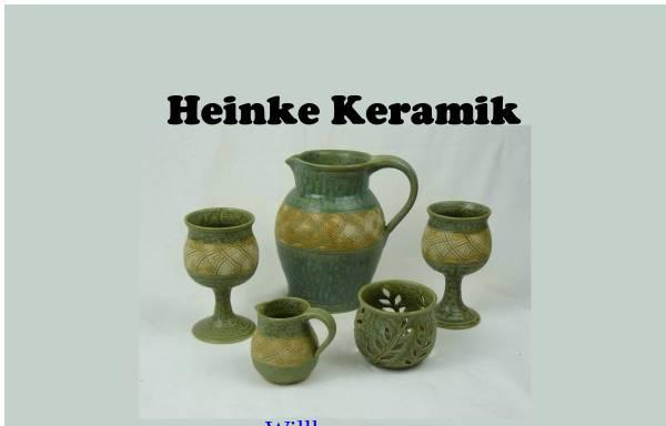 Vorschau von www.heinke-keramik.de, Heinke-Keramik