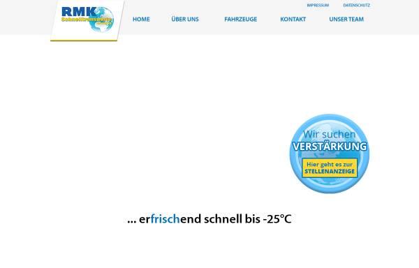 Vorschau von www.rmk-schnelltransporte.de, RMK Schnelltransporte Vermittlungs GmbH