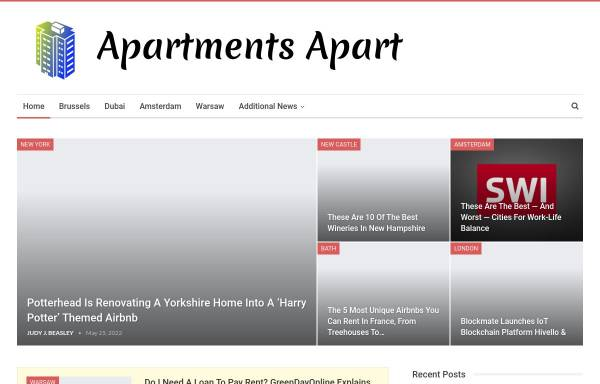Vorschau von www.apartmentsapart.com, Old Town Apartments