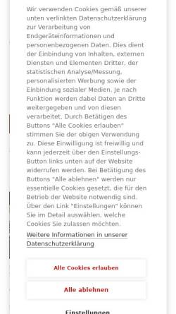 Vorschau der mobilen Webseite www.rechnungswesen-portal.de, Rechnungswesen-Portal.de