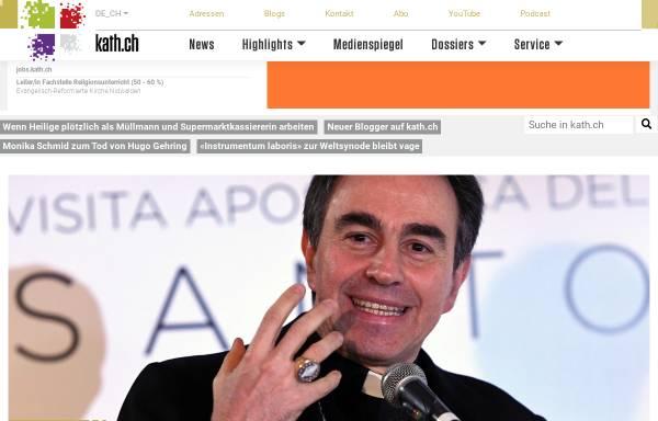 Vorschau von www.kath.ch, kath.ch: Dossier Ostern im Internet