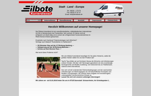 Vorschau von www.der-eilbote.de, Strickler, Adelheid