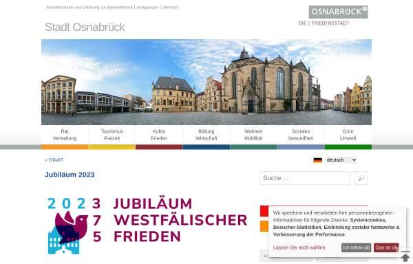 Vorschau von www.osnabrueck.de, Stadt Osnabrück