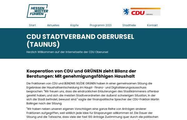 Vorschau von cduoberursel.de, CDU Oberursel