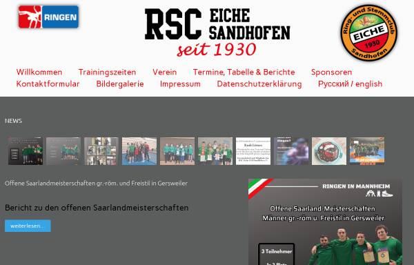 Vorschau von www.rsc-eiche-sandhofen.de, RSC Eiche Sandhofen 1930 e.V.