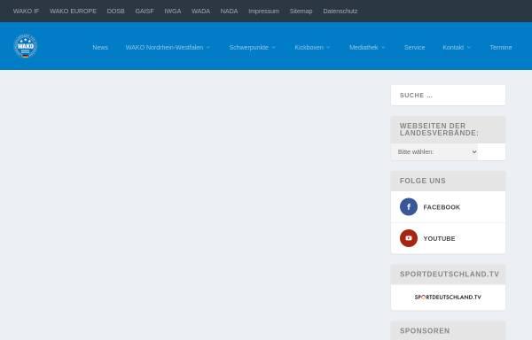 Vorschau von www.wako-in-nw.de, WAKO Landesverband Nordrhein-Westfalen e.V.