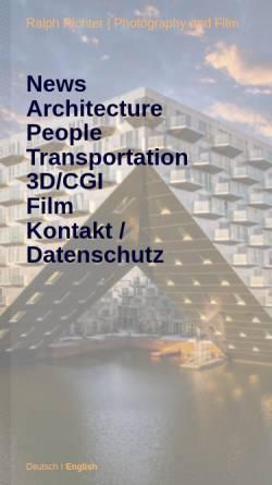 Vorschau der mobilen Webseite www.architekturphoto.de, architekturphoto GbR