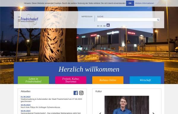 Vorschau von www.friedrichsdorf.de, Friedrichsdorf