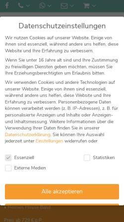 Vorschau der mobilen Webseite www.biehl-reisen.de, Biehl-Reisen