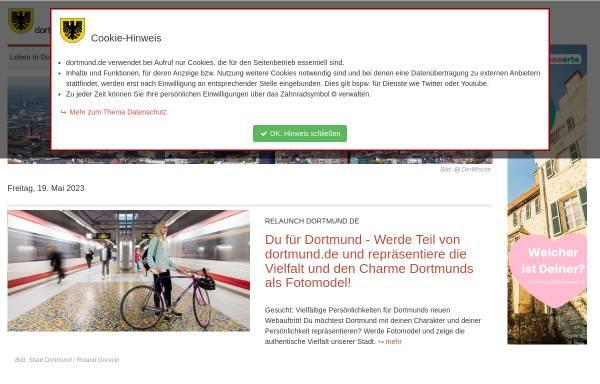 Vorschau von www.dortmund.de, dortmund.de