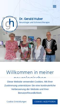 Vorschau der mobilen Webseite www.dochuber.at, Huber, Dr. Gerald