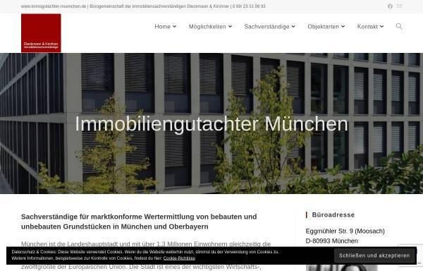 Vorschau von www.immogutachter-muenchen.de, Dieckmann & Kirchner Immobiliensachverständige