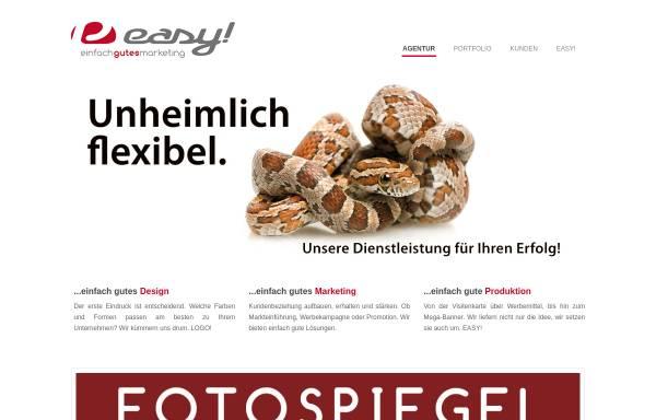 Vorschau von www.easy-pa.de, EASY! - Die Produktionsagentur