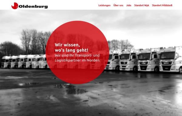 Vorschau von www.spedition-oldenburg.de, Spedition Oldenburg