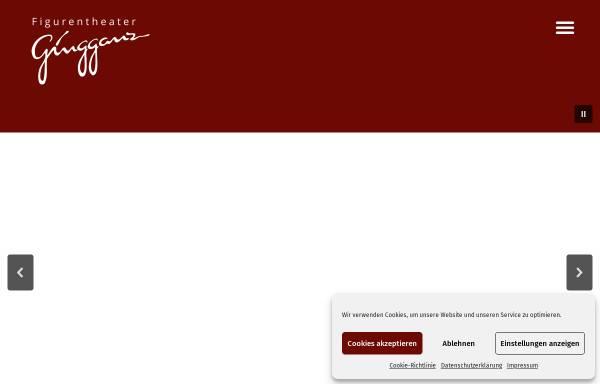 Vorschau von gingganz.de, Figurentheater Gingganz