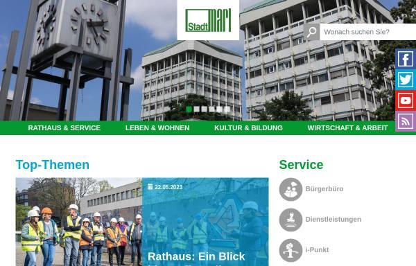 Vorschau von www.marl.de, Marl