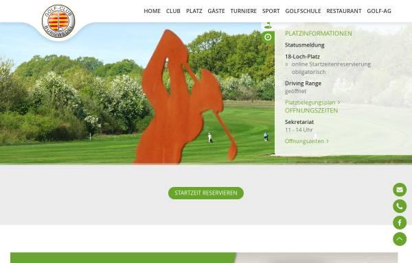 Vorschau von www.golf-burgwedel.de, Golf-Club Burgwedel