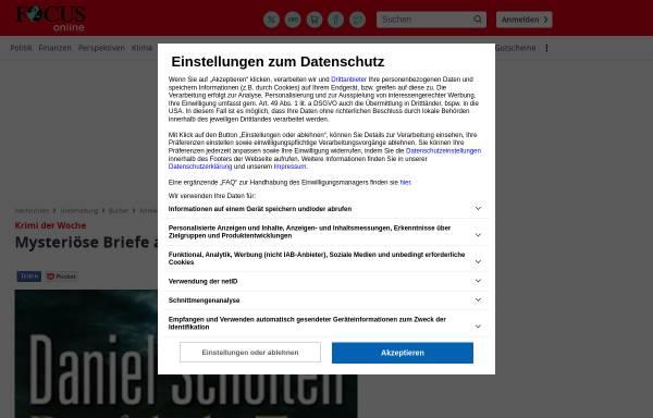 Vorschau von www.focus.de, Mysteriöse Briefe aus der Antike