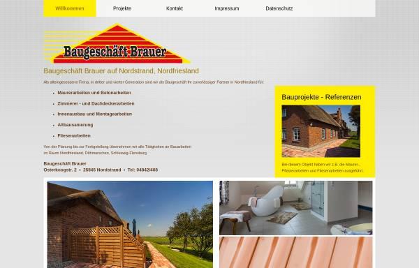 Vorschau von baugeschaeft-brauer.de, Bauunternehmen Wolfgang Brauer