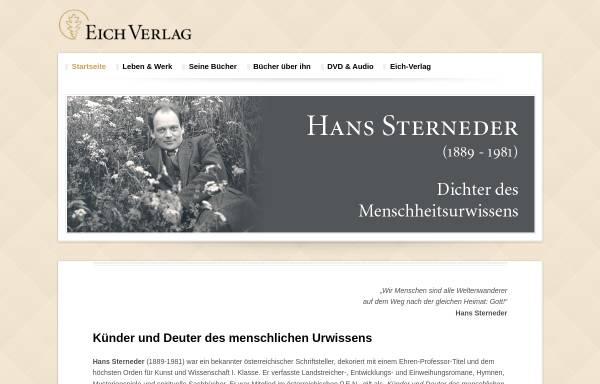 Vorschau von www.hans-sterneder.de, Hans Sterneder Weblog