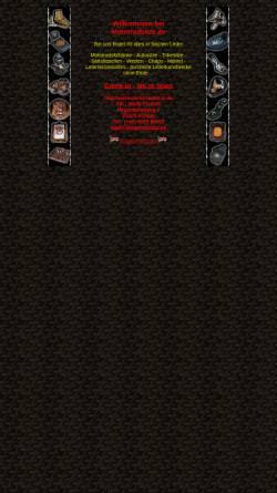 Vorschau der mobilen Webseite www.motorradsitze.de, Malte Fischer