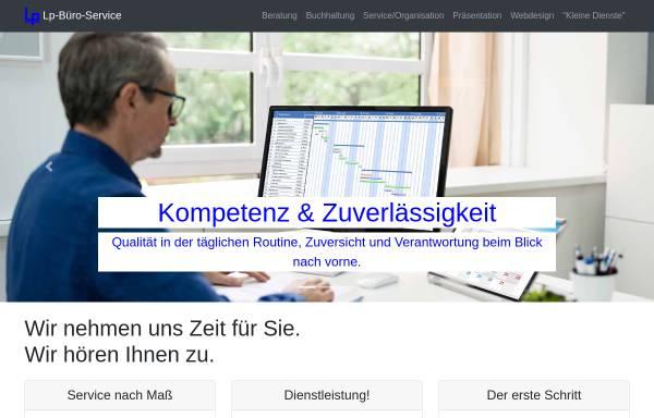 Vorschau von www.lp-buero-service.de, LP Büro-Service, Inh. Wolfgang Liepold