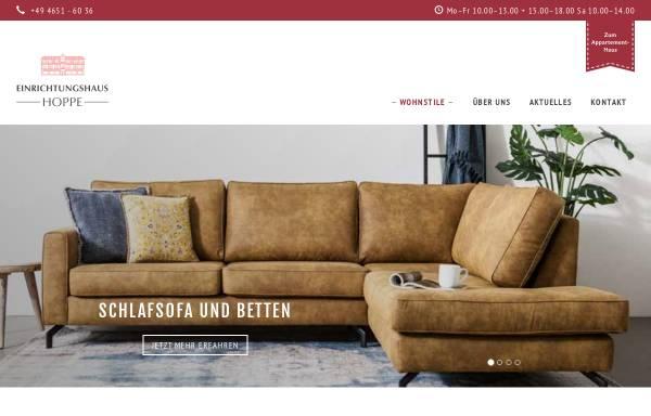 Vorschau von www.einrichtungen-sylt.de, Einrichtungshaus Hoppe