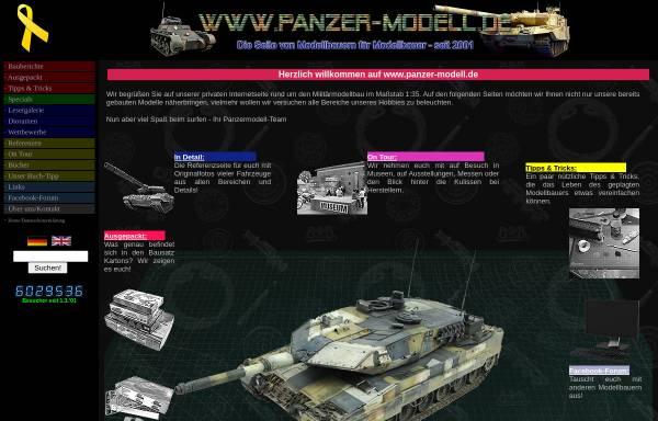Vorschau von www.panzer-modell.de, Panzer-Modell.de