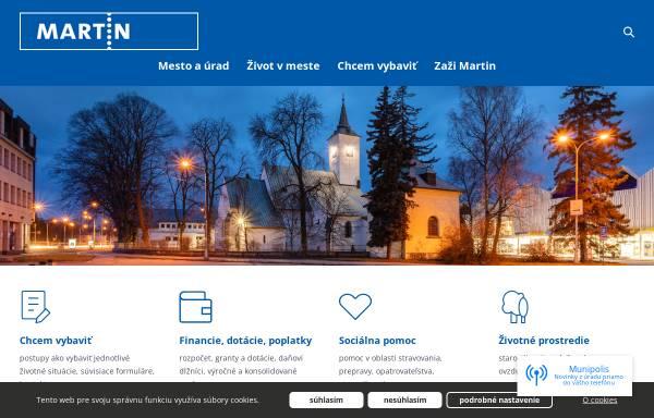 Vorschau von www.martin.sk, Martin