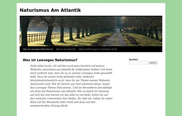 Vorschau von www.naturismus-am-atlantik.de, Chalet im Naturistencamp Euronat