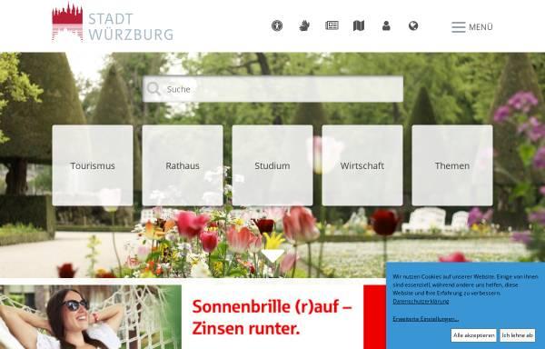 Vorschau von www.wuerzburg.de, Stadt Würzburg