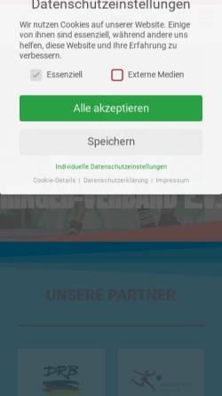 Vorschau der mobilen Webseite hessischer-ringerverband.de, Hessischer Ringer-Verband e.V.