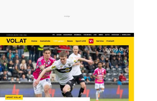 Vorschau von www.vol.at, Vorarlberg Online