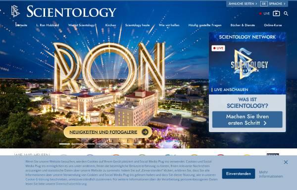 Vorschau von www.scientology.de, Scientology Kirche