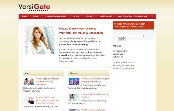 Vorschau von www.versigate.de, VersiGate, Inh. Gabriele Köppen