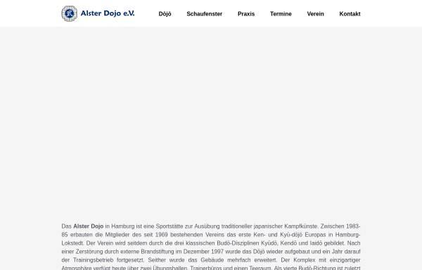 Vorschau von www.alster-dojo.de, Alster-Dojo Hamburg e.V.
