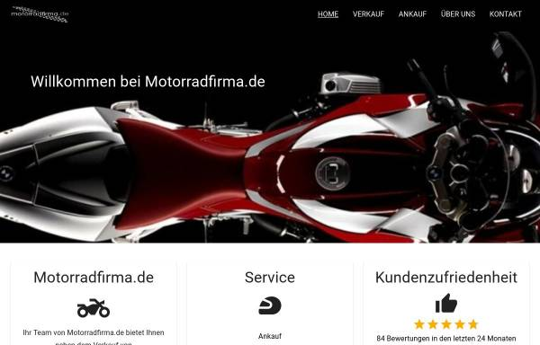 Vorschau von www.motorradfirma.de, B&B Motorradhandel