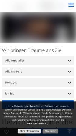Vorschau der mobilen Webseite www.motorrad-fassbender.de, Motorrad Faßbender