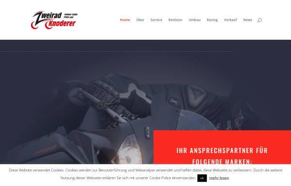 Vorschau von www.zweirad-knoderer.de, Zweirad Knoderer Kollmer GmbH