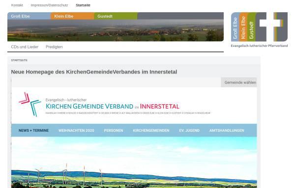 Vorschau von www.kirche-in-elbe.de, Predigten und Kindergottesdienst aus der Kirchengemeinde Groß Elbe