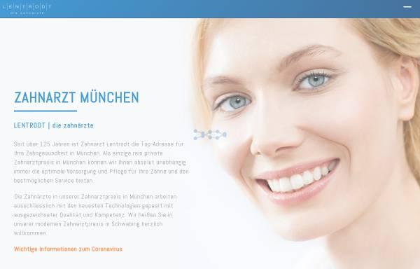 Vorschau von zahnarztlentrodt.de, Dres. Lentrodt Zahnärzte