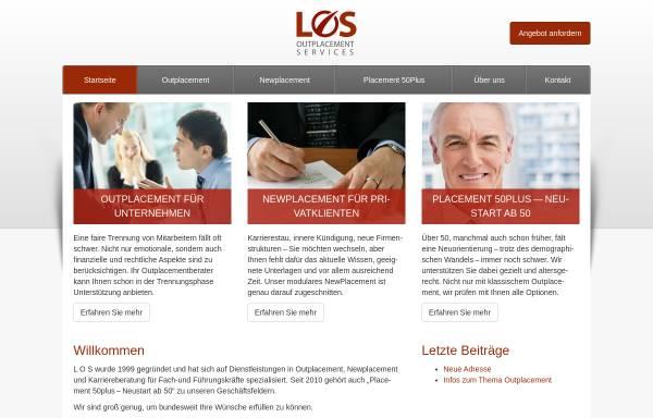 Vorschau von www.los-outplacement.de, Langnickel Outplacement Services