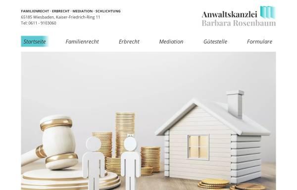 Vorschau von www.anwaltskanzlei-rosenbaum.de, Rosenbaum Rechtsanwälte