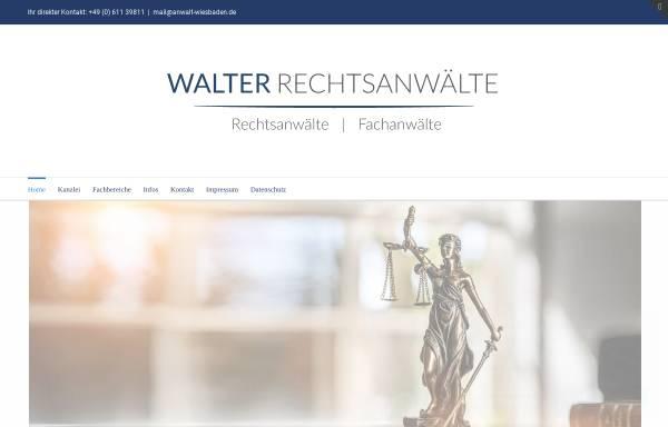 Vorschau von www.anwalt-wiesbaden.de, Wolfarth & Partner GbR